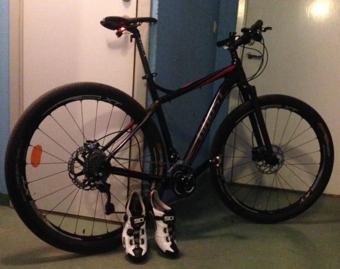 Projekt Infinty EBS Ghost Racer-mountainbike
