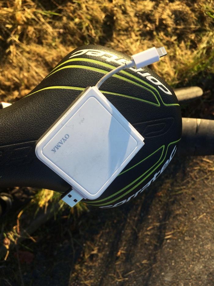 iPhonens extra liv USB batteri ayama ochPuro