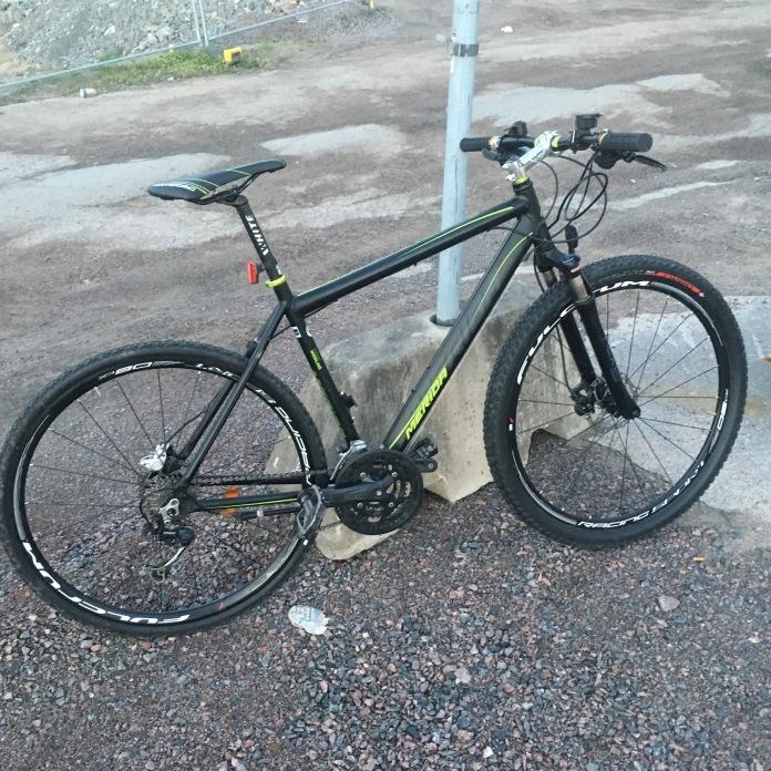 Cykologencom Snickrar på lånecykel för Norrköpingsområdet.