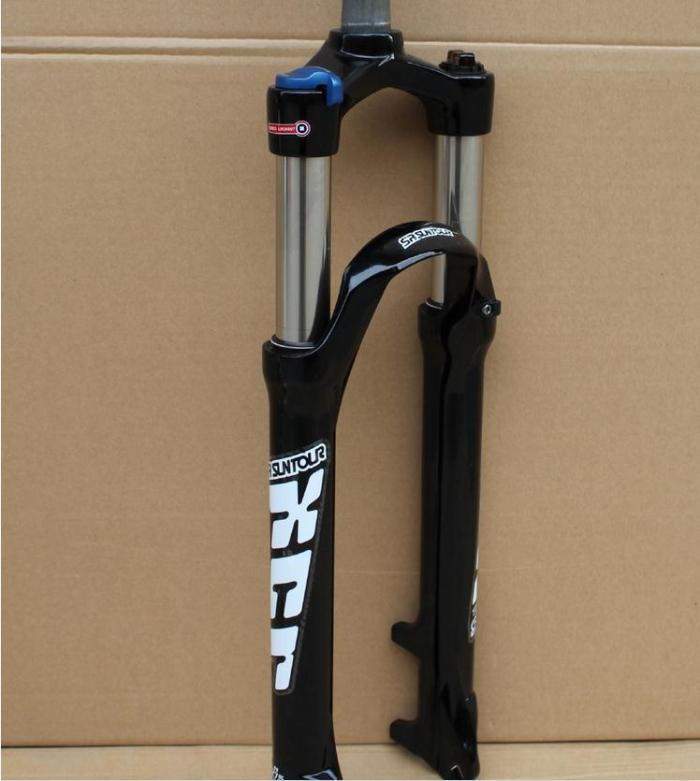 SUNTOUR-XCR-27-5-inch-wire-control-oil-spring-fork-lock-shoulder-control-mtb-front-fork